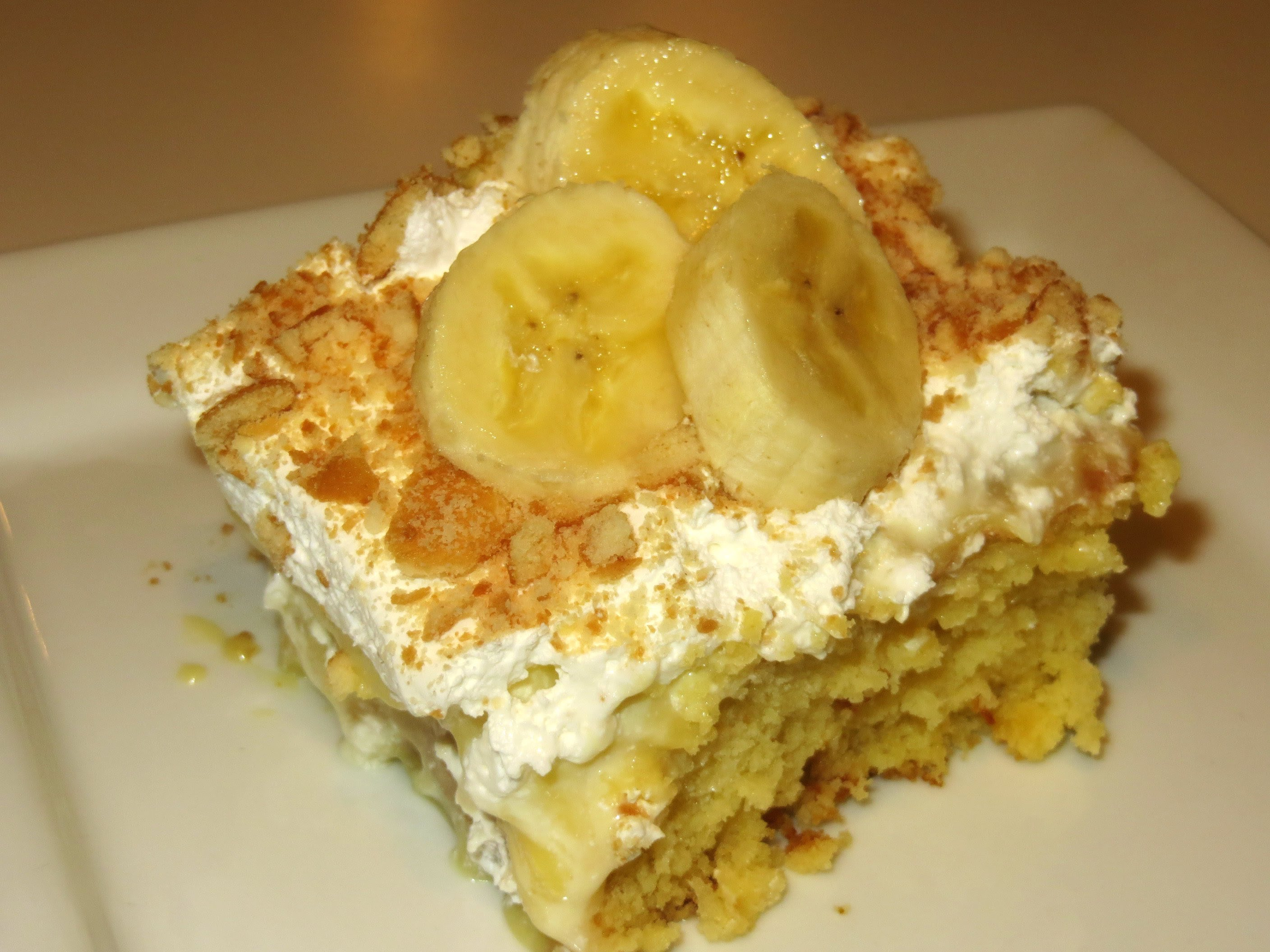 Heavenly Banana Cream Cake